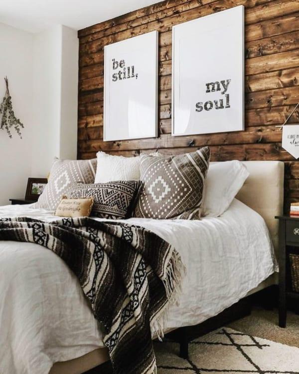 ネイティブアメリカンな寝室