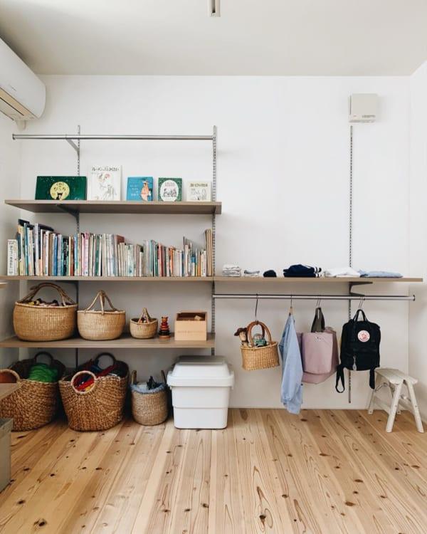 子ども部屋のおしゃれな整理収納アイディア20