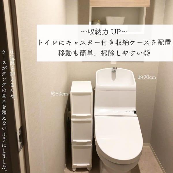トイレ収納に使えるマルチ収納