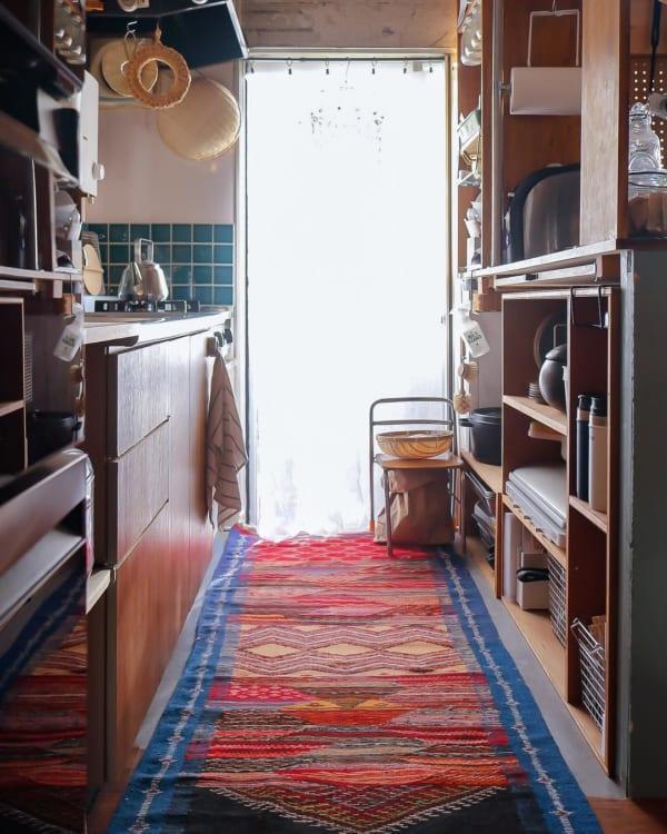 ③家事スペースにお気に入りアイテムを使う
