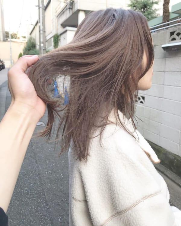イエベ女子に似合う髪色3