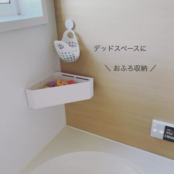 バスルームの収納アイデア4