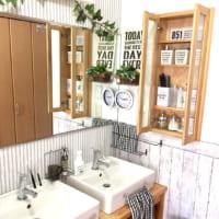 狭い洗面所には棚をプラス♪賃貸でもできるDIYアイデアで使いやすさ倍増!