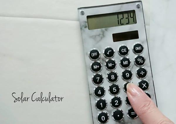 キャンドゥの高見え電卓