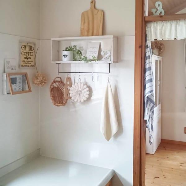 洗面所にあると便利なちょい置き棚