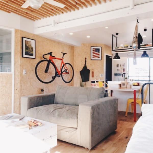 アメリカンポップな一人暮らしのお部屋