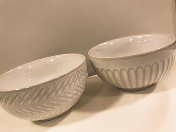 白いお茶碗(セリア)