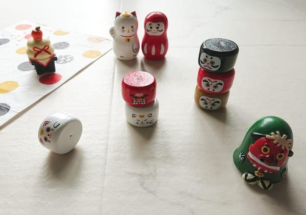【キャンドゥ】懐かしい木製レトロ玩具
