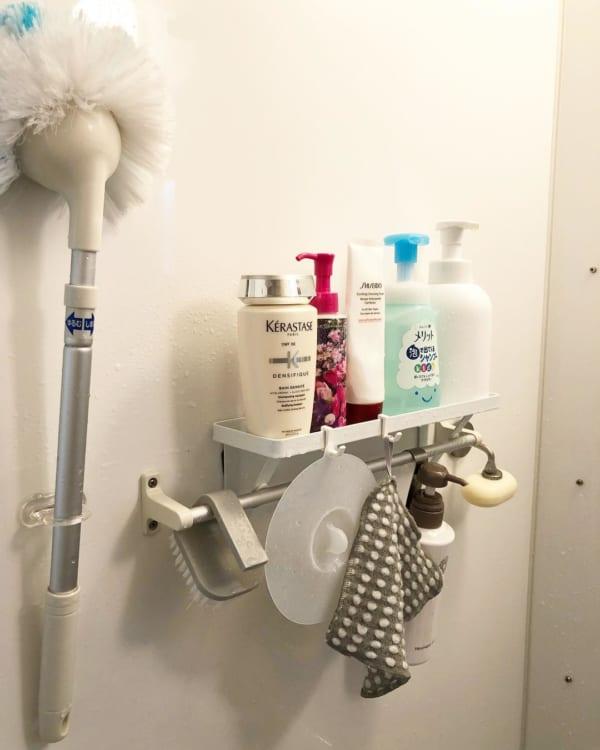 バスルームの収納アイデア5