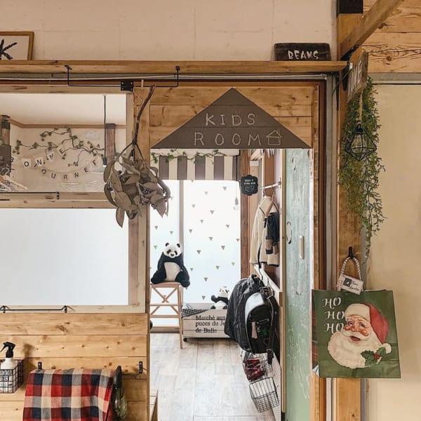 DIYでナチュラルに改造した和室子供部屋