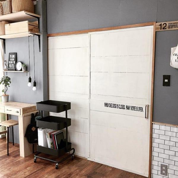 DIYで男前テイストに改造した和室子供部屋