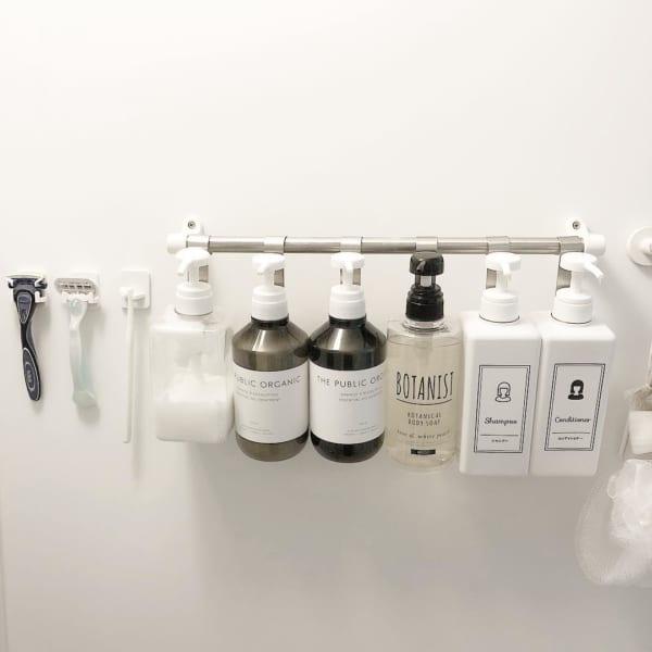 バスルームの収納アイデア6