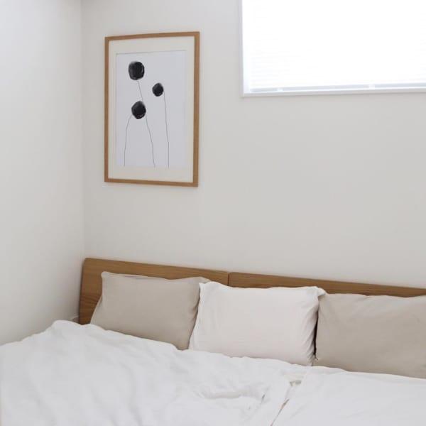寝室に飾り付け