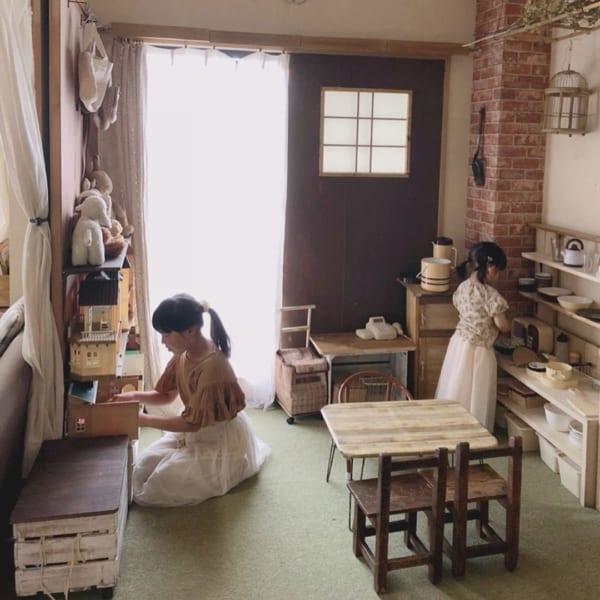 DIYで収納力UP楽しい和室女の子部屋