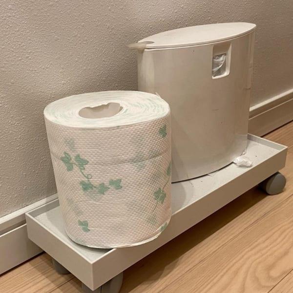 トイレ収納に活用
