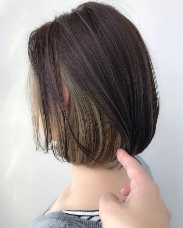 イエベ女子に似合う髪色7
