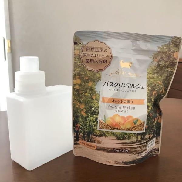 入浴剤・バスソルト用詰め替え容器
