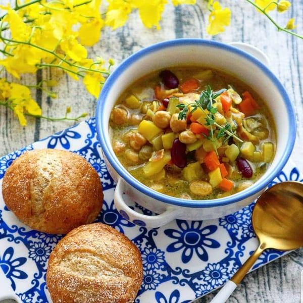 ハヤシライスにおすすめの付け合わせレシピ《スープ》4