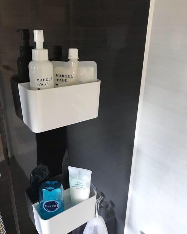バスルームの収納アイデア8