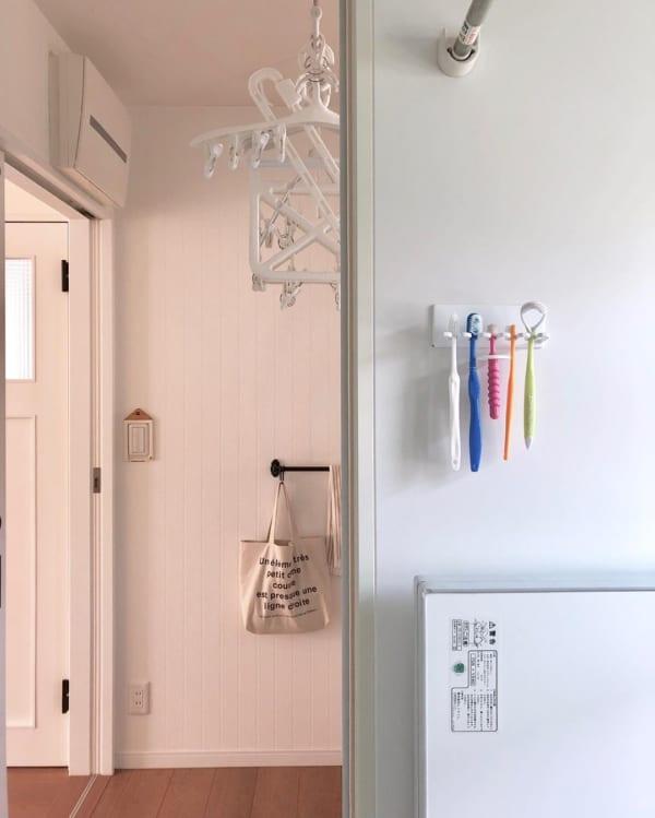 歯ブラシ 収納アイデア10
