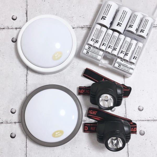 LEDヘッドライト&タッチライト