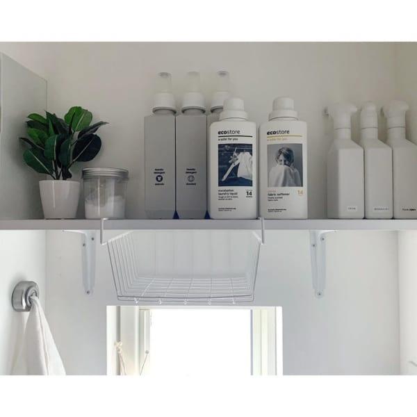 洗剤類の収納