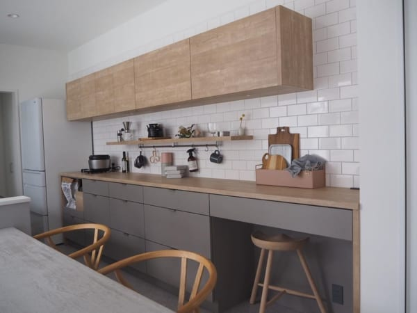 キッチン背面インテリア10