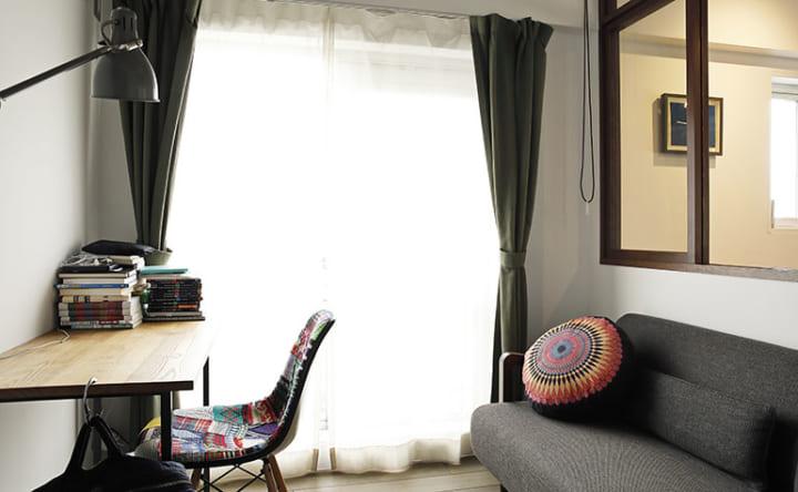 家具に合わせてつくる木の使い方が光るインテリア5