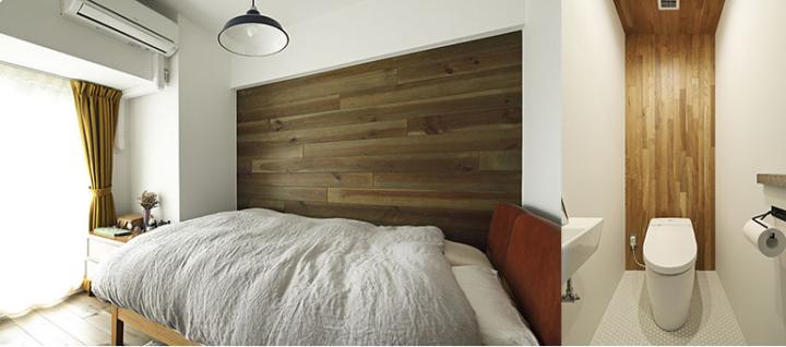 家具に合わせてつくる木の使い方が光るインテリア3