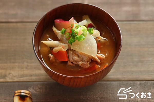 エビフライの付け合わせ☆スープ4