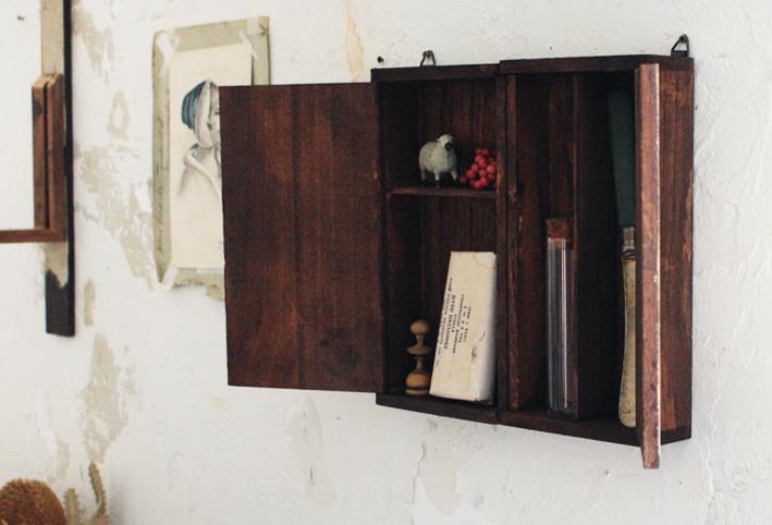 セリア 扉付き仕切りボックス DIY8