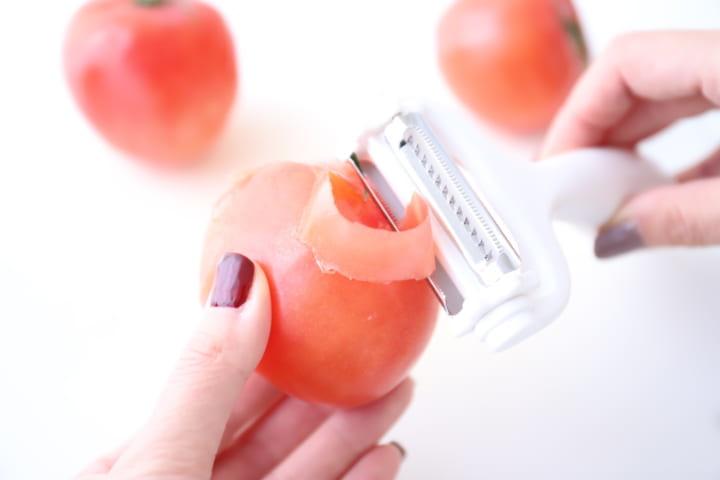 トマトの皮は本当に剥ける!?
