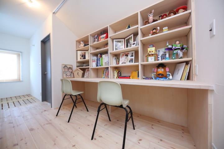 女の子向け子供部屋インテリア&収納《小学生》3