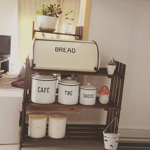 ワンルームのキッチン収納実例12