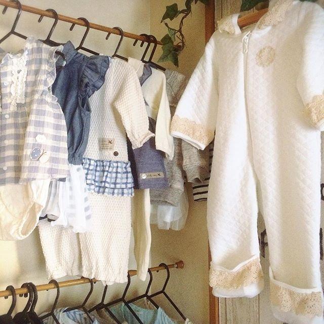 ベビー用品のリビング収納《衣類》2