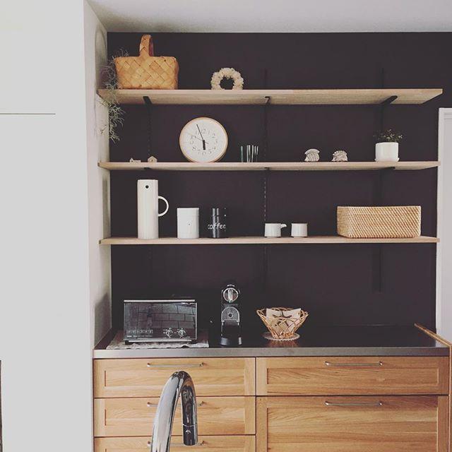キッチン背面インテリア4