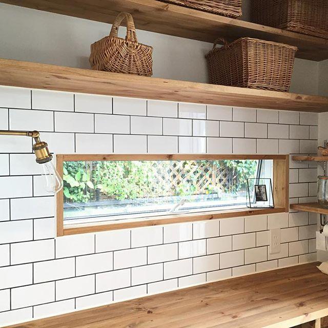 キッチン背面インテリア8