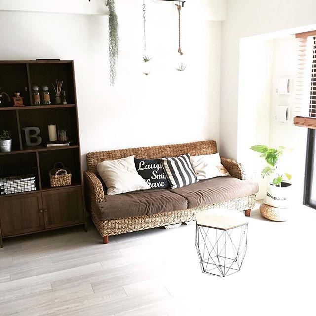 アジアンスタイルに最適な自然素材ソファ