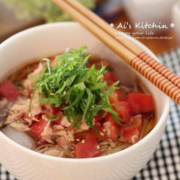 そうめんを使った人気のお弁当レシピ《和風》9