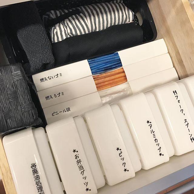 ダイソー【フタ付きケース】を使った小物収納3