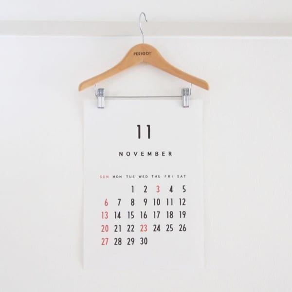 カレンダーの飾り方4