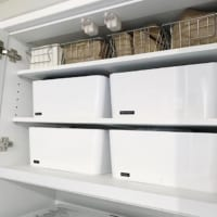 【IKEA】の収納ケースが使える!シンプルな収納ケースですっきりきれいに♪