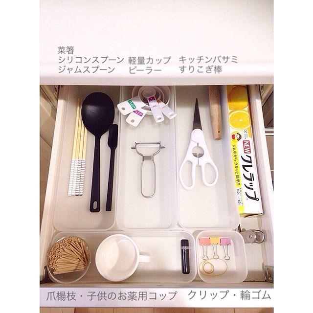 台所用品を綺麗に片付けるおすすめテクニック