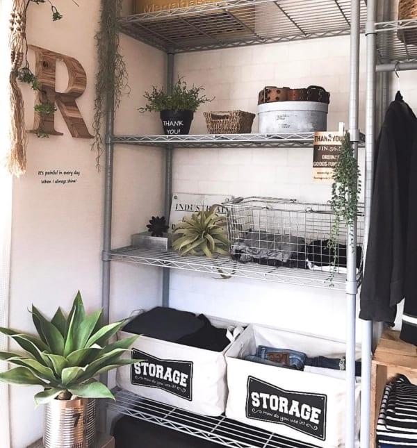 衣類の収納に便利なストレージボックス