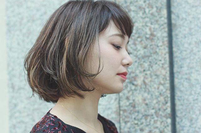 個性を発揮できる30代のヘアスタイル