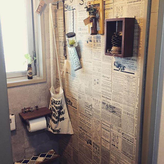 トイレの収納棚DIY18