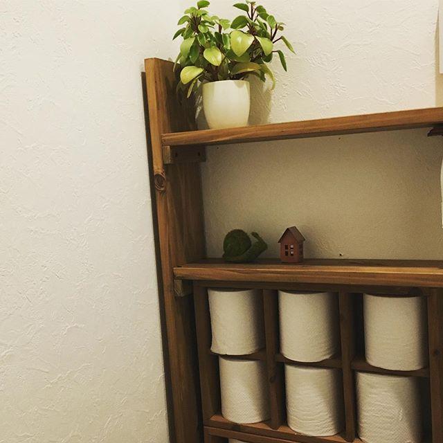 トイレの収納棚DIY12