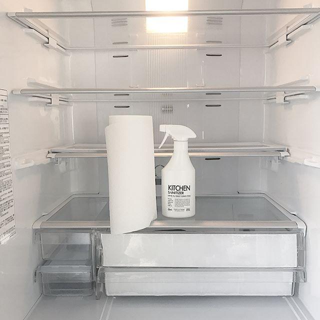 まずは冷蔵庫をお掃除をしよう!
