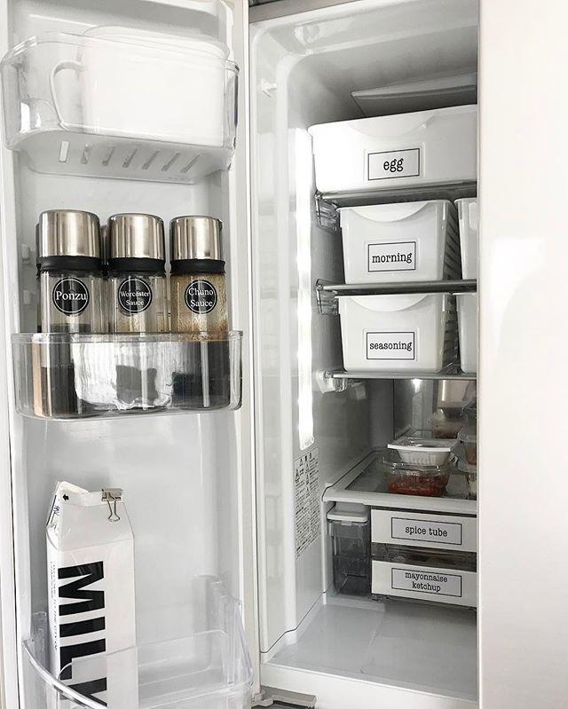 冷蔵庫 調味料収納4