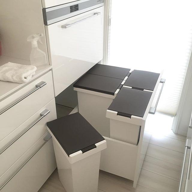狭いキッチンのゴミ箱の置き場所10